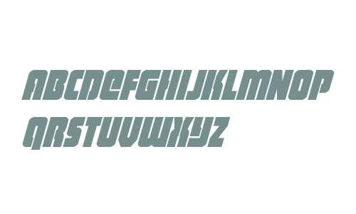 Heavy Falcon Italic Condensed