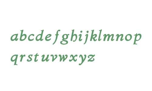Bergsland W01 Bold Italic
