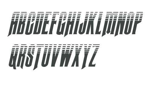 Butch & Sundance Two-Tone Italic