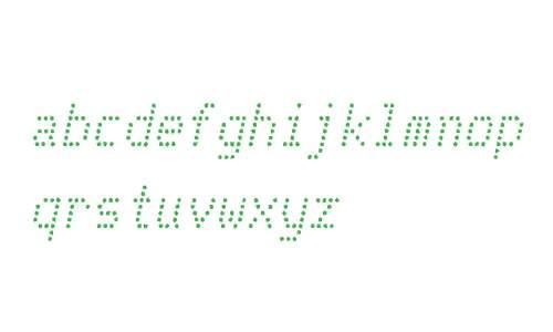 Telidon Ink W00 Italic