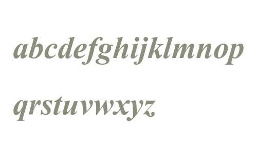 AngsanaUPC Bold Italic