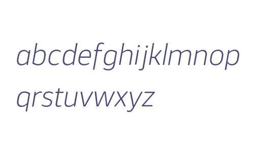 Webnar W00 Light Italic