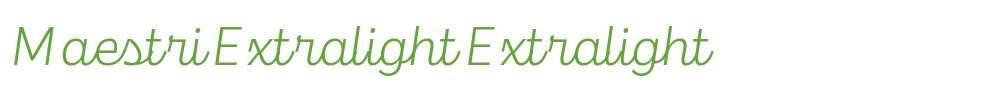Maestri Extralight
