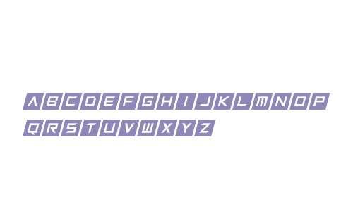 Squaresharps Italic