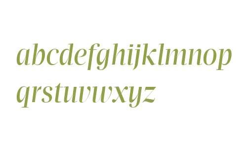 Apud Display W04 Medium Italic