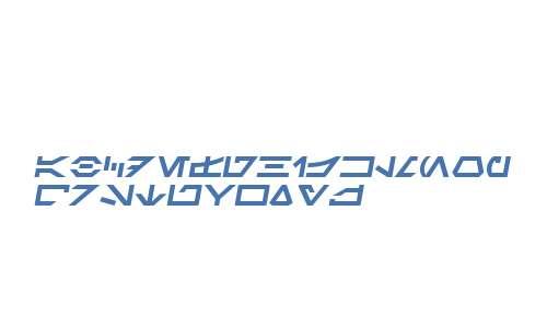 SF Distant Galaxy Symbols Italic V3