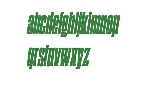 Dharma Slab C W03 Heavy Italic