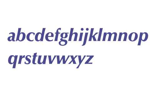 Optima* Black Italic
