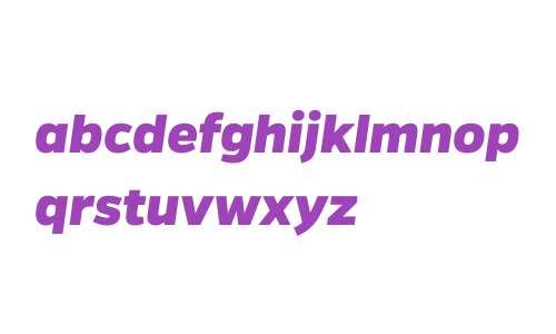 Gentona W00 ExtraBold Italic