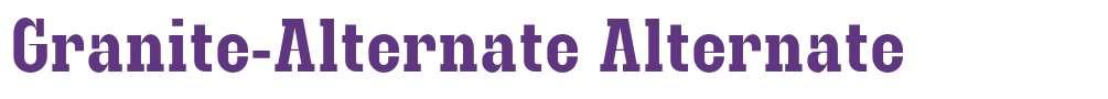 Granite-Alternate