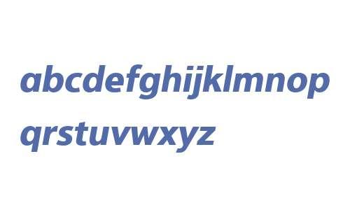 Interval Next W03 Bold Italic