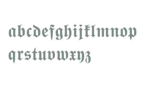 Wittenberger Fraktur MT W01 Bd