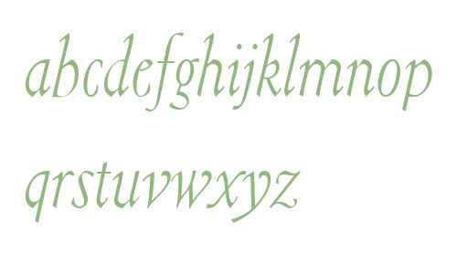 Isabelle W03 Italic