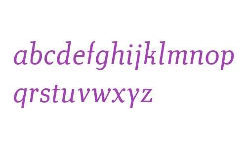 Technotyp W01 Light Italic