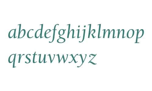 BerkeleyStd-Italic
