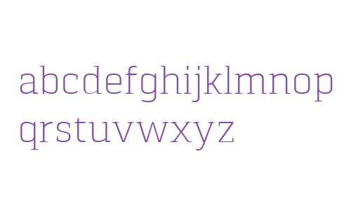 Pancetta Serif Pro ExtraLight