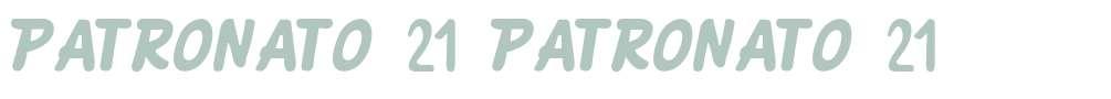 PATRONATO 21