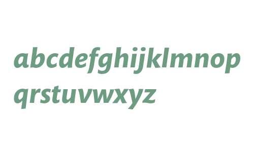 Mundo Sans Std Bold Italic