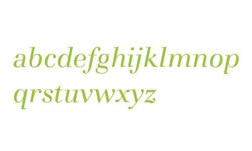 Basilia T Regular Italic