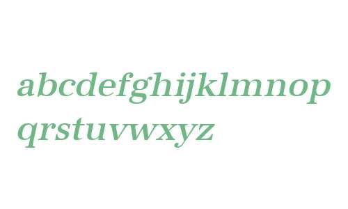 URWAntiquaTMed Oblique