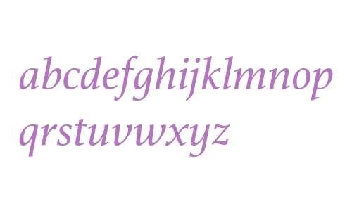 Athelas W01 Italic