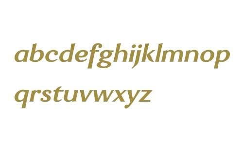 Enzia W00 Bold Italic