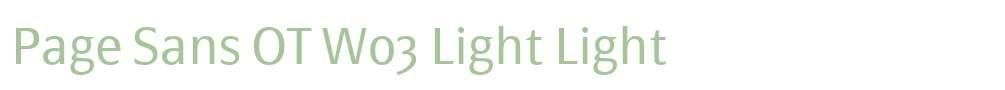 Page Sans OT W03 Light