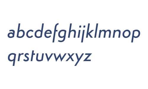Simplo W00 Medium Italic