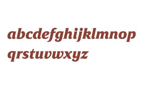 Friz Quadrata W04 Bold Italic