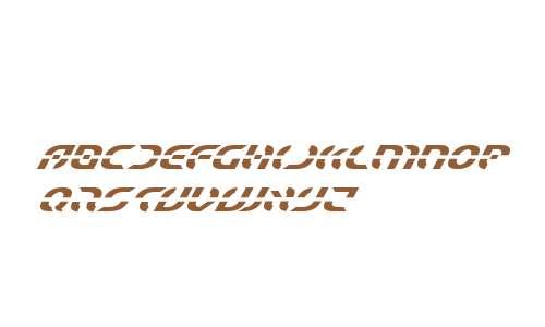 Starfighter Super-Italic