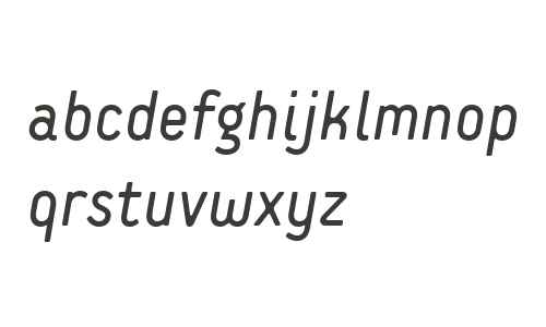 Extreme Sans W01 Italic