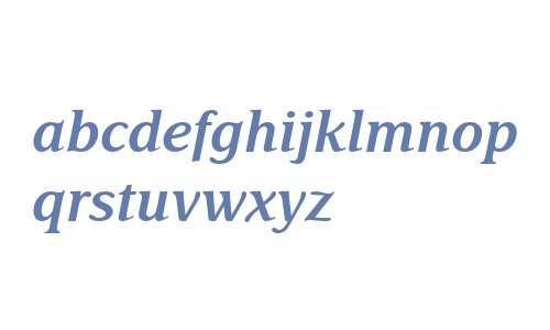 Delima MT W04 Semibold Italic