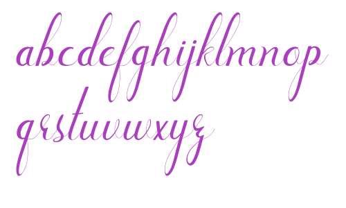 new lettering Art Design