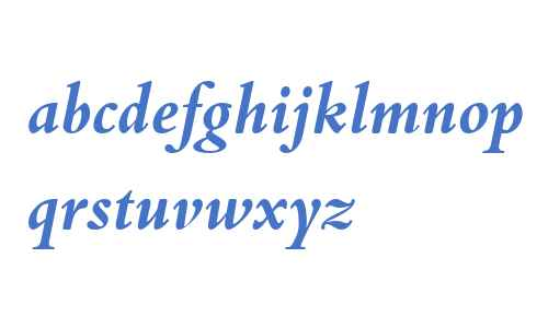 Bembo Book W04 Bold Italic