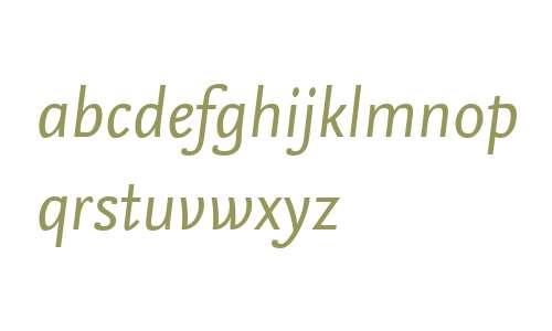 NexusSansWeb W03 Italic
