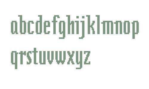 Zeitgeist MT W01 Condensed