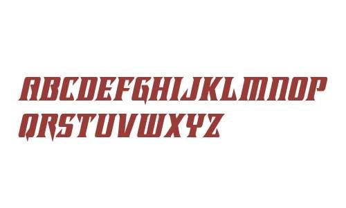 Lifeforce Condensed Italic