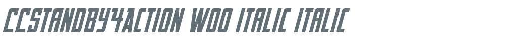 CCStandBy4Action W00 Italic