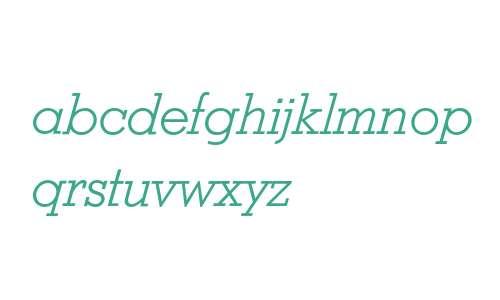Stymie Light Italic