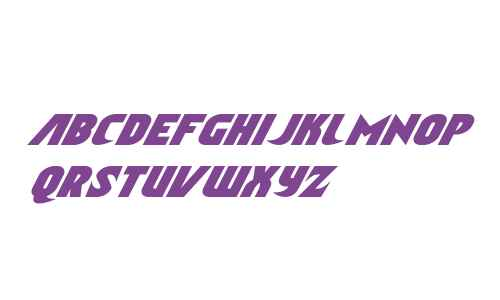Ninja Garden Condensed Italic
