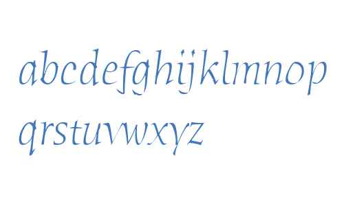 Humana Serif ITC W04 Light It