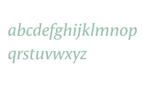 Angie Offc W02 Demibold Italic