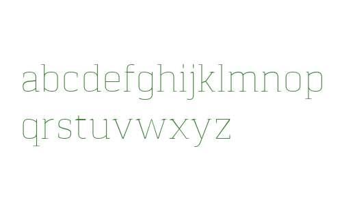 Pancetta Serif Pro Thin