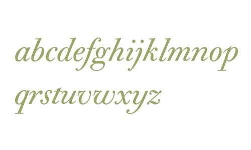 Bodoni Old Face Italic