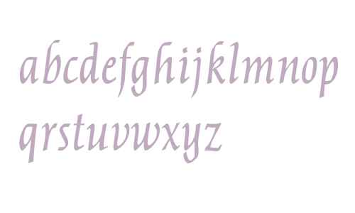 OPTICather-Italic