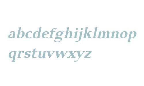 Visage W01 Bold Oblique