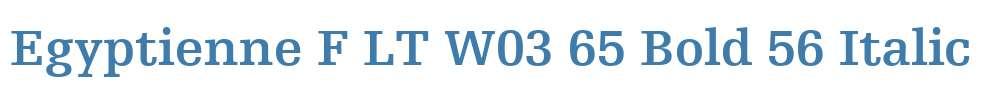 Egyptienne F LT W03 65 Bold