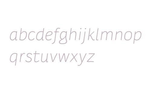 Karlo Sans W00 Light Italic