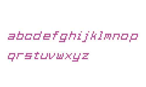 Squarewave-Italic