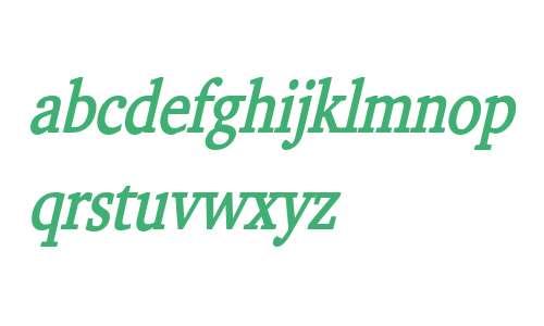 Challenge Condensed Bold Italic